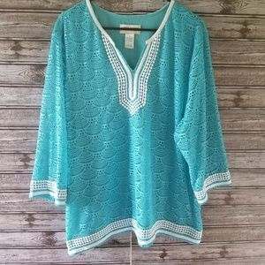 Alfred Dunner Top Size 2X